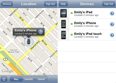 Hitta elller spår din försvunna iPhone